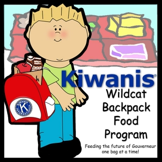 Gouverneur Kiwanis Wildcat Backpack Program