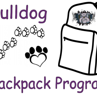 Heuvelton Bulldog Backpack Program logo